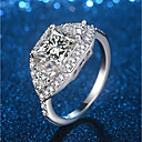 cheap Rings-Women's Cut Out Stylish Statement Ring Ring - Platinum Plated, Imitation Diamond Precious Unique Design, Trendy, Elegant 5 / 6 / 7 / 8 / 9 Silver For Party Night out&Special occasion