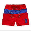 povoljno Muške duge i kratke hlače-Muškarci Slim Chinos Hlače Color block