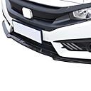 tanie Automotive Body Decoration and Protection-3 szt. Samochód Ramki ochronne Zwykły Typ klamry na Zderzak przedni samochodu Na Honda Civic 2016 / 2017