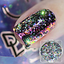 cheap Other Nail Tools-1pc Glitter Powder Fashionable Design / Luminous nail art Manicure Pedicure Bling Bling Daily Wear