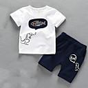 ieftine Set Îmbrăcăminte Băieți Bebeluși-Bebelus Băieți Mată Manșon scurt Set Îmbrăcăminte