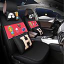 رخيصةأون ماوس الكمبيوتر-ODEER أغطية مقاعد السيارات أغطية المقاعد أسود-أحمر منسوجات عادي for عالمي كل السنوات جميع الموديلات