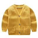 ieftine Seturi Îmbrăcăminte Fete-Copil Fete Mată Manșon Lung Sfeter & Cardigan