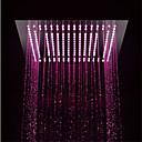 Χαμηλού Κόστους Βρύσες Κουζίνας-Σύγχρονο Ντουζιέρα Βροχή Χρώμιο Χαρακτηριστικό - LED / Ντους, Κεφαλή ντους
