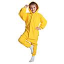 preiswerte Kigurumi Pyjamas-Kigurumi-Pyjamas Pika Pika Pyjamas-Einteiler Kostüm Polar-Fleece Gelb Cosplay Für Kinder Tiernachtwäsche Karikatur Halloween Fest /