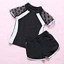 povoljno Mjerni alati-Djeca Djevojčice Jednobojni Kupaći kostim