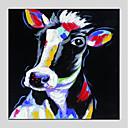 billige Oljemalerier-Hang malte oljemaleri Håndmalte - Still Life Moderne Inkluder indre ramme / Stretched Canvas