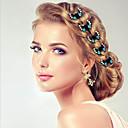 baratos Acessórios para Cabelos-Alfinetes Acessórios de cabelo Strass perucas Acessórios Mulheres 10pcs pçs 1.2m cm Roupa Diária Decoração de Cabelo Adorável