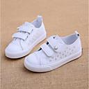 זול נעלי ילדות-בנות נעליים סינטטיים אביב קיץ נוחות נעלי ספורט סקוטש ל ילדים לבן / ורוד