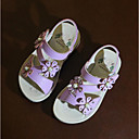 ieftine Pantofi Fetițe-Fete Pantofi PU Primavara vara Pantofi Fata cu Flori Sandale Flori pentru Copil Alb / Mov Deschis / Roz