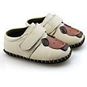 ieftine Pantofi Fetițe-Fete Pantofi Piele Primăvara & toamnă Confortabili / Primii Pași Pantofi Flați pentru Alb / Maro / Roz