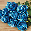 ieftine Vase & Coș-Flori artificiale 1 ramură Clasic Stilat Trandafiri Față de masă flori