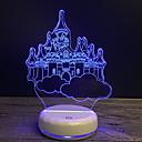 abordables Utensilios de Horno-1pc Luz nocturna 3D USB Dibujos animados / Nuevo diseño / Creativo <5 V
