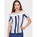 billige Syntetiske parykker-T-skjorte Dame - Ensfarget, Dusk Vintage Kran