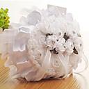 povoljno Jastuk za prstenje-Platno Umjetni biser / Čipka / Lente / Vrpce Saten ring pillow Plaža Teme / Vrt Tema / Butterfly Theme Sva doba