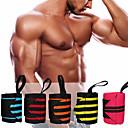 halpa Kuntoiluvälineet ja -tarvikkeet-Wrist Wraps Nylon Säädettävä Venyvä Rannetuet Hengittävä Kulutuksen kestävä Kuntoilu Kuntosaliharjoitus Treenata varten Miehet Naisten ranne