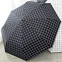 abordables Fundas de Almohada-Poliéster / Acero Inoxidable Todo Nuevo diseño Paraguas de Doblar