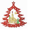 olcso Karácsonyi dekoráció-Karácsonyi díszek Ünneő Műanyag Négyzet Újdonságok Karácsonyi dekoráció
