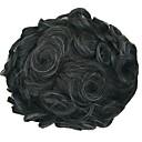 Недорогие Накладки для мужчин-Муж. Натуральные волосы Накладки для мужчин Волнистый 100% ручная работа Мягкость