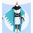preiswerte Anime-Kostüme-Inspiriert von Fate / zero Okita Souji Anime Cosplay Kostüme Cosplay Kostüme Mit Mustern Mantel / Ärmel / Socken Für Damen Halloween Kostüme