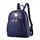 cheap Shoulder Bags-Women's Bags PU(Polyurethane) Backpack Zipper Beige / Dark Blue / Wine