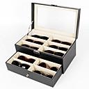 abordables Almacenamiento de Joyería-Almacenamiento Organización Colección de joyas El plastico Forma rectangular Portátil