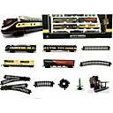 baratos Caminhões de brinquedo e veículos de construção-Trens & Ferrovias de Brinquedo Trem Cauda Luminoso Simulação Requintado Plástico e metal Infantil Todos Para Meninos Para Meninas Brinquedos Dom 1 pcs