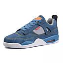 cheap Men's Sneakers-Men's Denim Summer Comfort Sneakers Color Block White / Black / Blue