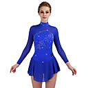 cheap Ice Skating Dresses , Pants & Jackets-Figure Skating Dress Women's Ice Skating Dress Royal Blue strenchy Performance / Practise Skating Wear Quick Dry, Anatomic Design Classic