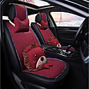 cheap TV Boxes-ODEER Car Seat Covers Seat Covers Black / Red Textile Cartoon / Common For universal All years All Models