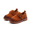 ieftine Pantofi Băieți-Băieți Pantofi PU Primăvara & toamnă Cizme de Combat Cizme Plimbare Dantelă de Cusut pentru Copii Negru / Galben / Vișiniu / Cizme / Cizme la Gleznă