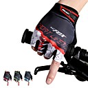cheap Cycling Jerseys-Bike Gloves / Cycling Gloves Breathable Anti-Slip Sweat-wicking Protective Half Finger Sports Gloves Mountain Bike MTB Red Green Blue for Adults' Outdoor