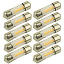 billige Car Signal Lights-10pcs 31mm Bil Elpærer 1 W COB 100 lm 1 LED Blinklys Til