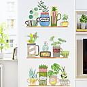 ieftine Acțibilde de Perete-Autocolante de Perete Decorative - Autocolante perete plane Floral / Botanic Dormitor