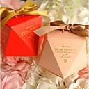 povoljno Kutijice za svadbene poklone-Pravokutno Kartica papira Naklonost Holder s Uzde Milost Kutije - 12pcs