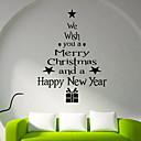 cheap Window Film & Stickers-Window Film & Stickers Decoration Christmas Holiday PVC(PolyVinyl Chloride) Window Sticker / Shop / Cafe