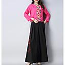 preiswerte Parykopfbedeckungen-Damen Set - Blumen Hose