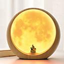 billige Krus & Kopper-1pc Stikkontakt LED Night Light Varm hvid Usb Sødt / Kreativ / bedside 5 V