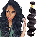 cheap Girls' Clothing Sets-1pc tres jolie body wave human hair 10 20inch natural black color 1b human hair weaves