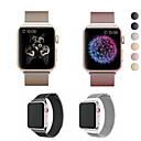 halpa Smartwatch-nauhat-Watch Band varten Apple Watch -sarja 5/4/3/2/1 Apple Milanolainen Ruostumaton teräs Rannehihna