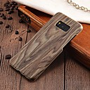 cheap Lighting Accessories-Case For Samsung Galaxy S8 Plus / S8 Ultra-thin Back Cover Wood Grain Hard PC for S8 Plus / S8 / S7 edge