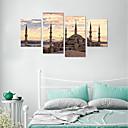 ieftine Acțibilde de Perete-Autocolante de Perete Decorative - Autocolante perete plane / 3D Acțibilduri de Perete Scenic / Forme Sufragerie / Cameră de studiu / Birou