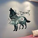 billige Vægklistermærker-Dekorative Mur Klistermærker - Animal Wall Stickers Dyr / 3D Soveværelse / Indendørs