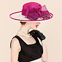 cheap Party Headpieces-Flax Hats with Flower 1pc Wedding / Special Occasion / Casual Headpiece