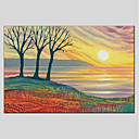 cheap Landscape Paintings-Print Stretched Canvas - Landscape Modern