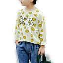ieftine Pantaloni Băieți-Copii Băieți Șic Stradă Geometric Manșon Lung Poliester Hanorac Galben 110