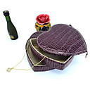 billige Skrivebords Organisation-Opbevaring Organisation Smykker Samling PU Læder Uregelmæssig form Kreativ