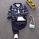 ieftine Baby Boys' One-Piece-Bebelus Băieți Imprimeu Manșon Lung Set Îmbrăcăminte