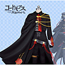 povoljno Anime kostimi-Inspirirana Kod Gease Lelouch Lamperouge Anime Cosplay nošnje Japanski Cosplay Suits S teksturom Kaput / Bluza / Hlače Za Muškarci / Rukavice / Plašt