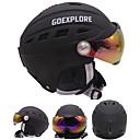 cheap Hiking Trousers & Shorts-Ski Helmet Unisex Snowboarding Ski Adjustable One Piece Thermal / Warm EPS ABS CE EN 1077 ASTM